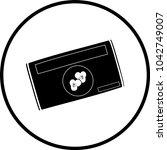 microwave popcorn packet symbol | Shutterstock .eps vector #1042749007