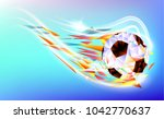 fifa world cup russia 2018... | Shutterstock .eps vector #1042770637