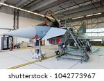 laage  germany aug 23  2014  a... | Shutterstock . vector #1042773967