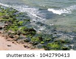 coast of the mediterranean sea... | Shutterstock . vector #1042790413