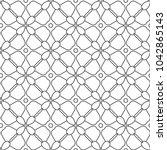 seamless vector pattern in...   Shutterstock .eps vector #1042865143
