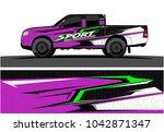 truck graphic background kit... | Shutterstock .eps vector #1042871347
