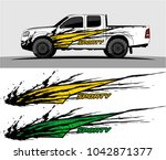 truck graphic background kit... | Shutterstock .eps vector #1042871377
