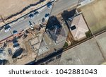 drone aerial view cross section ... | Shutterstock . vector #1042881043