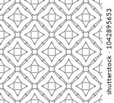 seamless vector pattern in... | Shutterstock .eps vector #1042895653