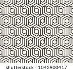 vector seamless pattern. modern ...   Shutterstock .eps vector #1042900417