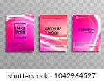 abstract colorful business... | Shutterstock .eps vector #1042964527