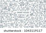 thin line design banner on...   Shutterstock .eps vector #1043119117