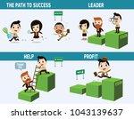 symbol business concept of... | Shutterstock .eps vector #1043139637