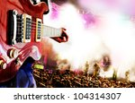 Live Music Background Guitar...