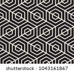vector seamless pattern. modern ... | Shutterstock .eps vector #1043161867