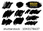 large set different grunge... | Shutterstock .eps vector #1043178637