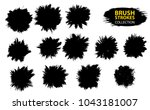 large set different grunge... | Shutterstock .eps vector #1043181007