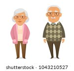funny cartoon illustration of... | Shutterstock .eps vector #1043210527