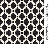 seamless geometric pattern.... | Shutterstock .eps vector #1043214787