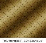 steel plate metal background  | Shutterstock . vector #1043264803