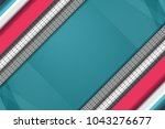 abstract tech background with...   Shutterstock .eps vector #1043276677