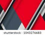abstract tech background with...   Shutterstock .eps vector #1043276683