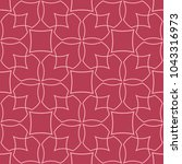 red and pale pink geometric... | Shutterstock .eps vector #1043316973