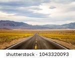 death valley s very rare  super ...   Shutterstock . vector #1043320093