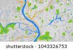 map city springfield | Shutterstock .eps vector #1043326753