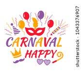 celebration festive background... | Shutterstock .eps vector #1043376907