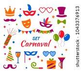 celebration festive background... | Shutterstock .eps vector #1043376913