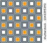 seamless abstract vector... | Shutterstock .eps vector #1043395393