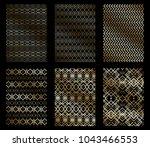 vector illustration set of... | Shutterstock .eps vector #1043466553