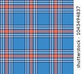 seamless tartan vector pattern | Shutterstock .eps vector #1043494837