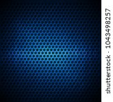 blue dotted metal background... | Shutterstock .eps vector #1043498257