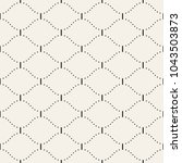 seamless geometric pattern.... | Shutterstock .eps vector #1043503873