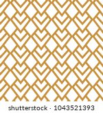 abstract triangle tiles... | Shutterstock .eps vector #1043521393