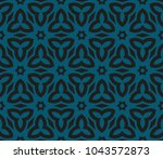 stylish geometric background.... | Shutterstock .eps vector #1043572873