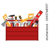 repair and construction tools... | Shutterstock .eps vector #1043768557