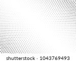 abstract halftone wave dotted... | Shutterstock .eps vector #1043769493