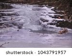Small Frozen Icy Creek...