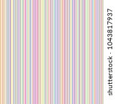 vector pattern with colorful...   Shutterstock .eps vector #1043817937