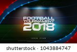 2018 world championship... | Shutterstock .eps vector #1043884747