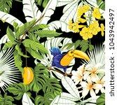 seamless pattern  background... | Shutterstock .eps vector #1043942497