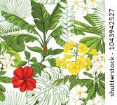 seamless pattern  background... | Shutterstock .eps vector #1043942527
