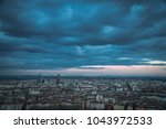 great panorama  skyline ... | Shutterstock . vector #1043972533