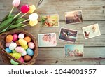 photo album in remembrance and... | Shutterstock . vector #1044001957