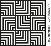 chevron square pattern... | Shutterstock .eps vector #1044003847
