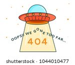404 error page with cute... | Shutterstock .eps vector #1044010477