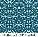 seamless modern vector... | Shutterstock .eps vector #1044052393