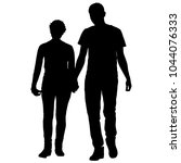 couples man and woman... | Shutterstock .eps vector #1044076333