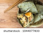 zongzi or traditional chinese... | Shutterstock . vector #1044077833