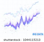vector abstract financial big... | Shutterstock .eps vector #1044115213
