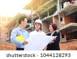 asian engineers having...   Shutterstock . vector #1044128293